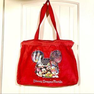 3/$10 // DISNEY Dreams Florida Cotton Zippered Bag